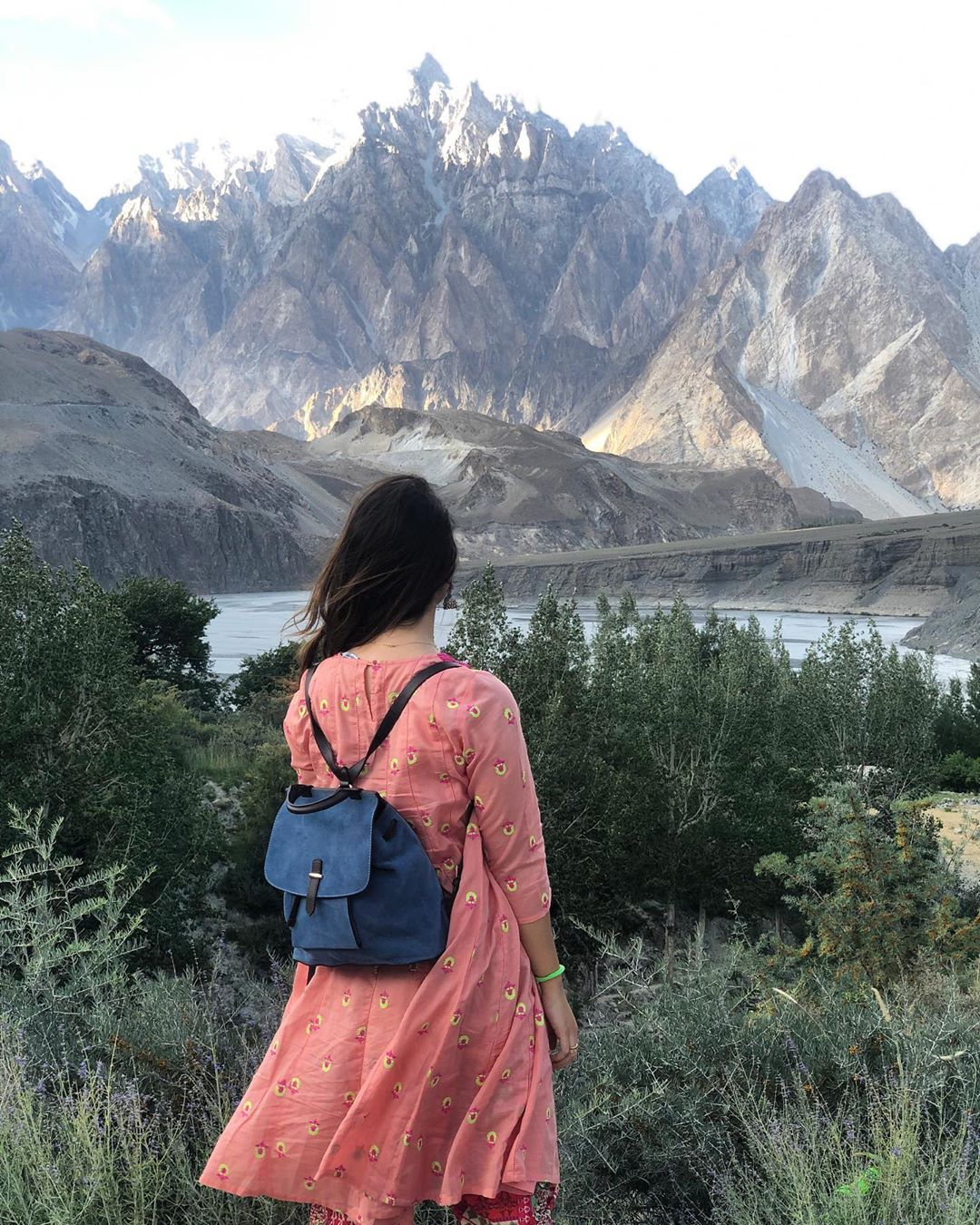 Awesome Clicks of Komal Aziz in Northern Areas of Pakistan
