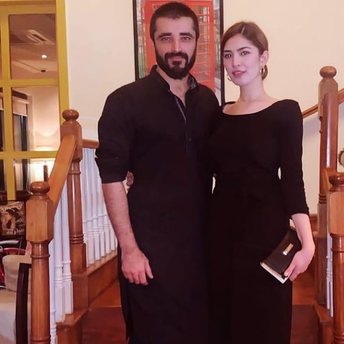 New Pictures of Hamza Ali Abbasi & Naimal Khawar