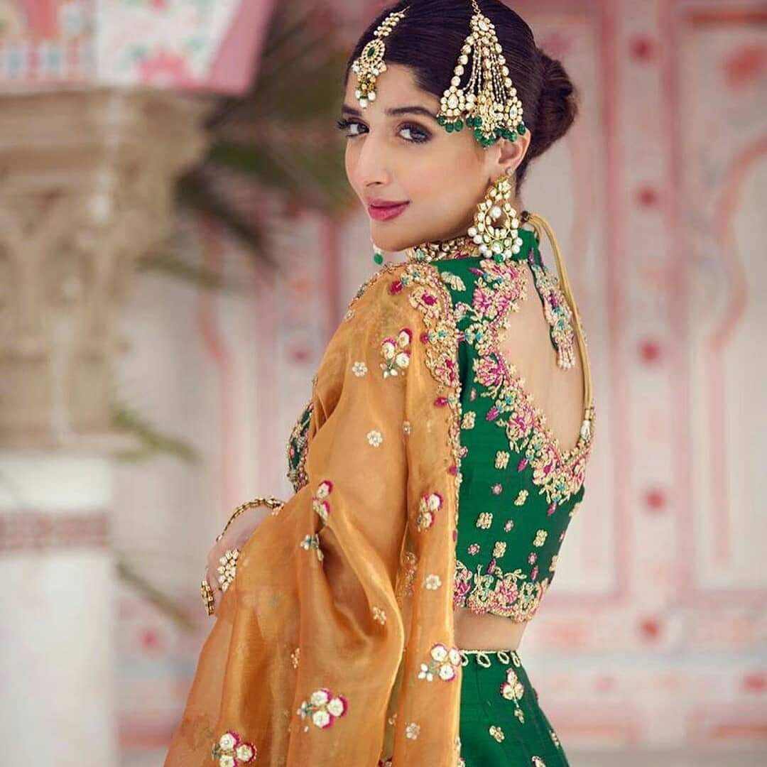 Awesome Bride PhotoShoot of Mawra Hocane