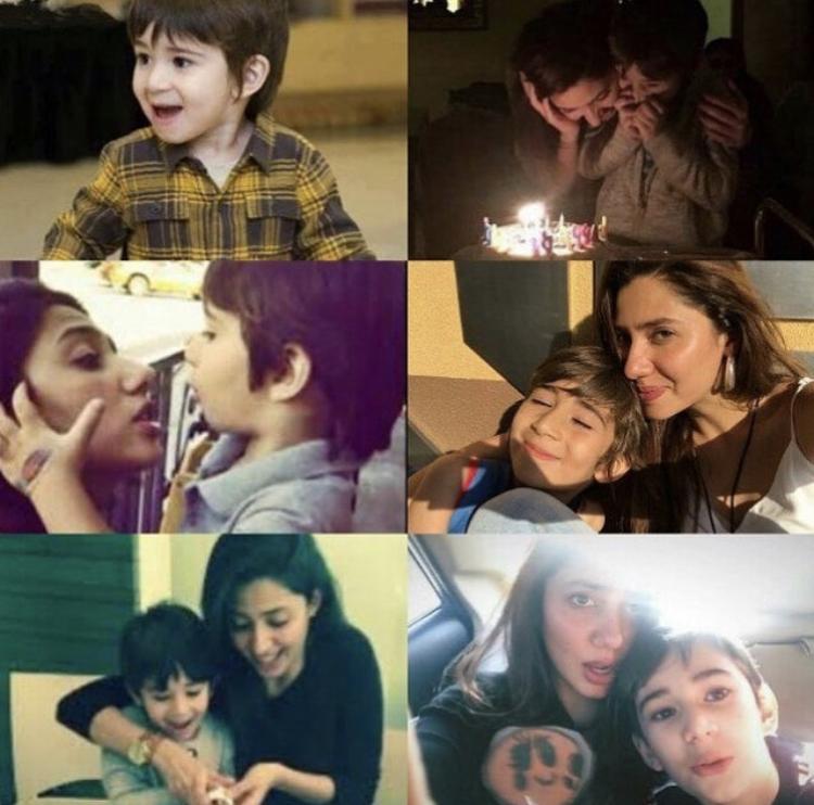 Beautiful Mahira Khan Celebrating Her Son 9th Birthday
