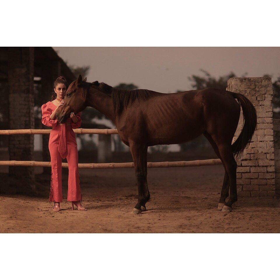 Latest Photoshoot of Actress Sadia Faisal