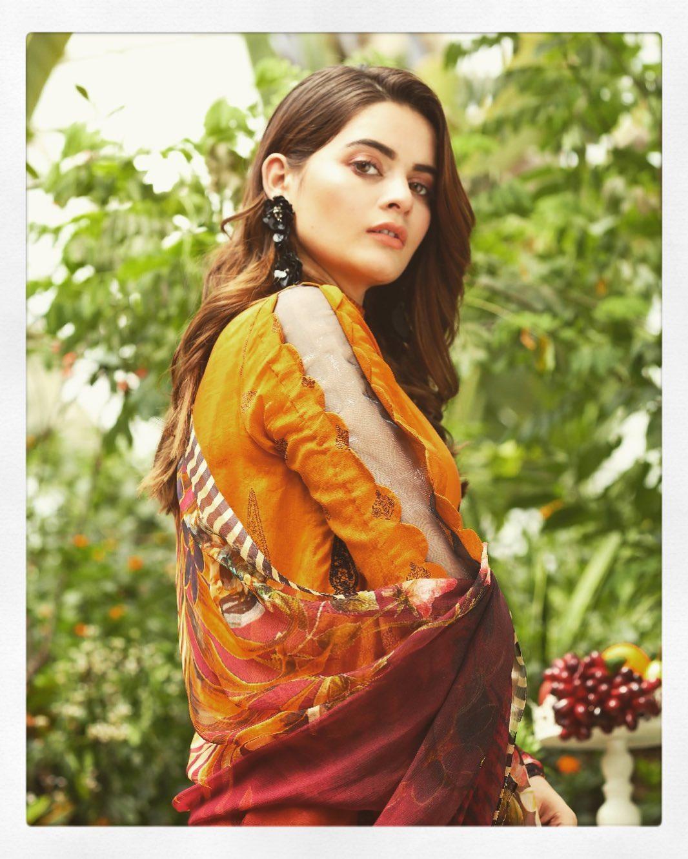New Pictures of Beautiful Actress Minal Khan