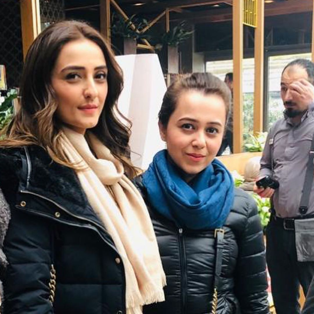 New Clicks of Momal Sheikh with her Husband
