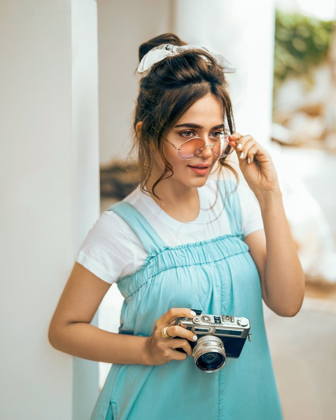 Sumbul Iqbal is Looking Gorgeous in her trendy look for Latest Photoshoot