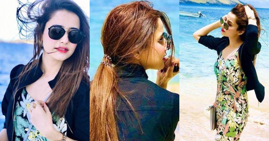 New Pictures of Actress Saniya Shamshad from Fiji
