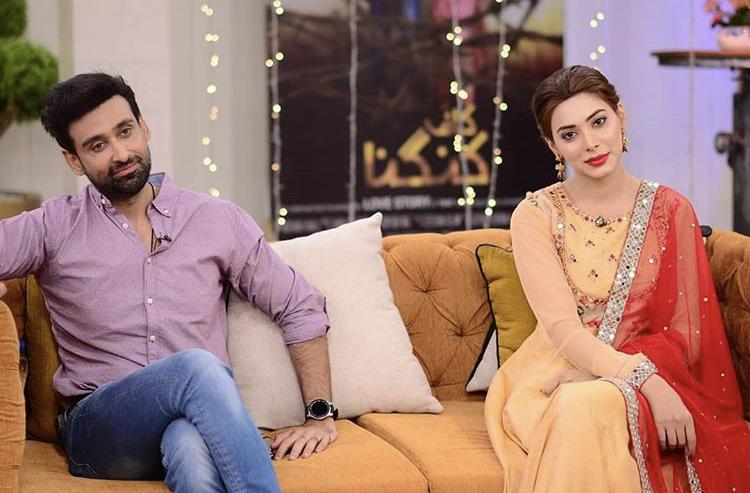 Kaaf Kangana Cast Making Fun Of Eshal Fayyaz On Live Show
