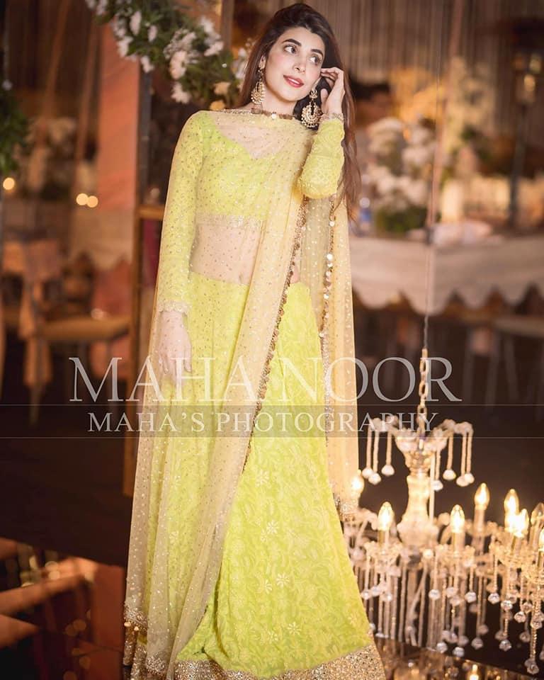 Urwa Hocane and Farhan Saeed Recent Clicks from Wedding Event