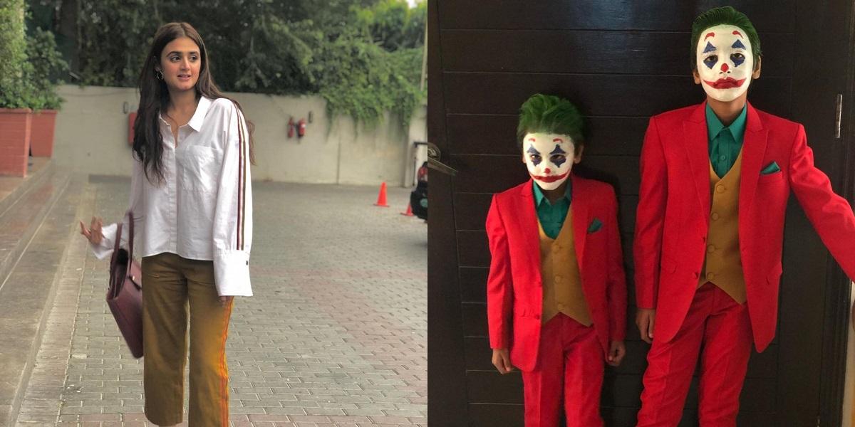 You Will Love Hira Mani's Sons In Joker Avatar