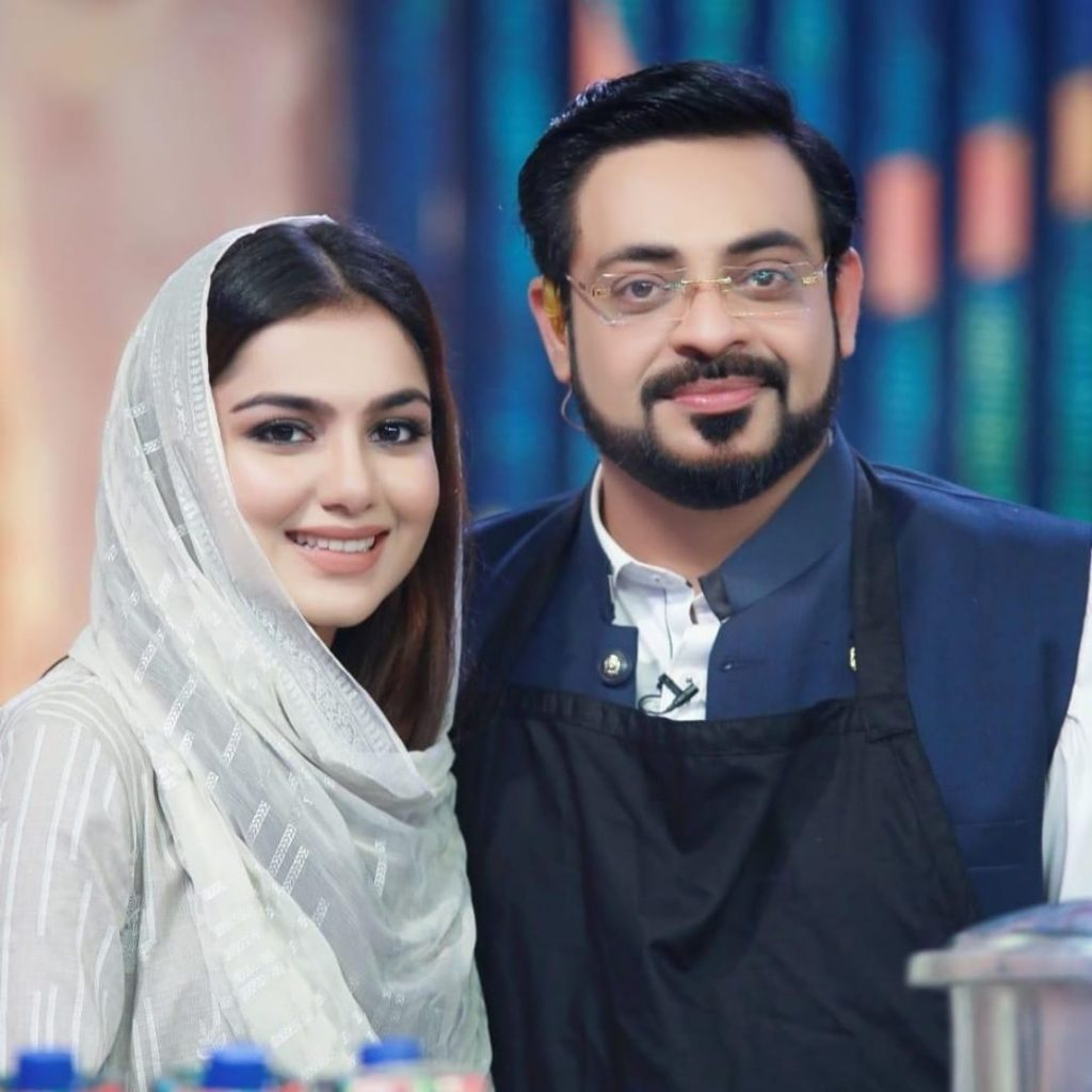 Tuba Aamir Response to Questions on Marrying to Aamir Liaquat
