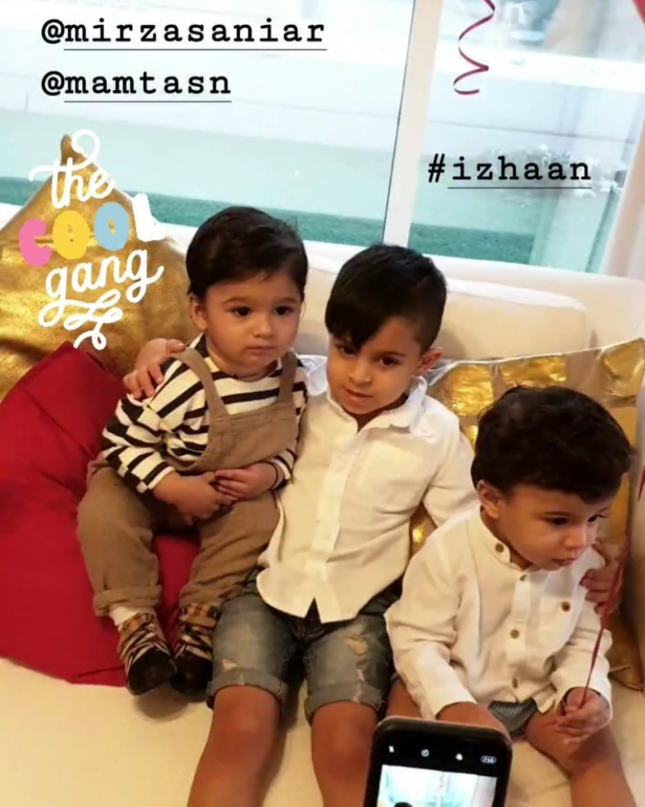 Sania Mirza and Shoiab Son Izhaan Celebrated 1st Birthday