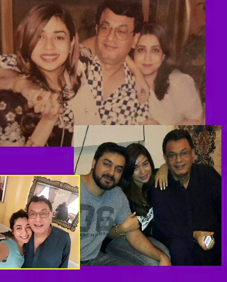 Awesome Pictures of Singer Komal Rizvi with Family