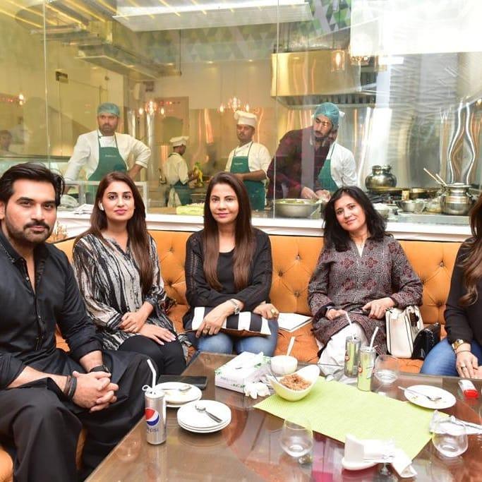Celebrities Spotted at Iqrar ul Hassan Restaurant in Karachi