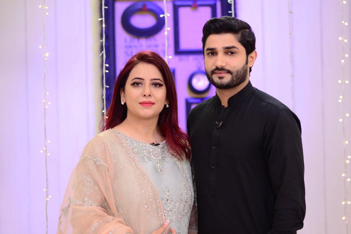 Rabia Anum Beautiful Clicks from Nida Yasir Morning Show