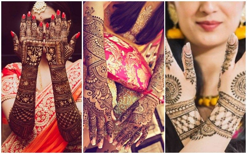 Unique Awesome Indian Mehndi Styles 2020