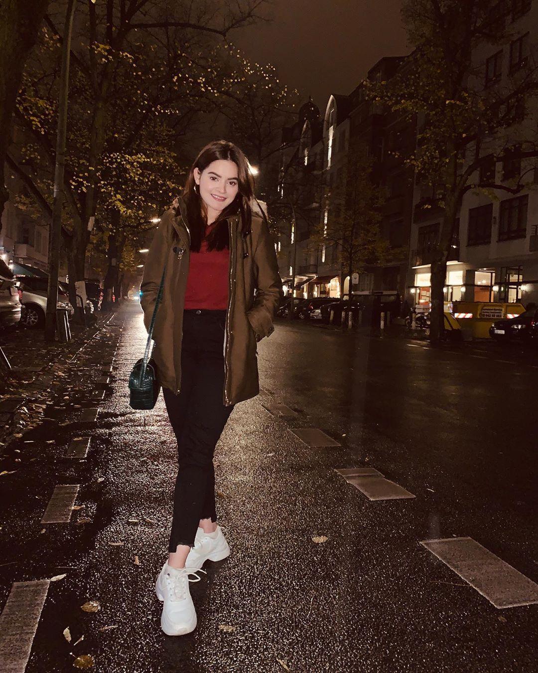 Actress Minal Khan Vacations Clicks from Germany