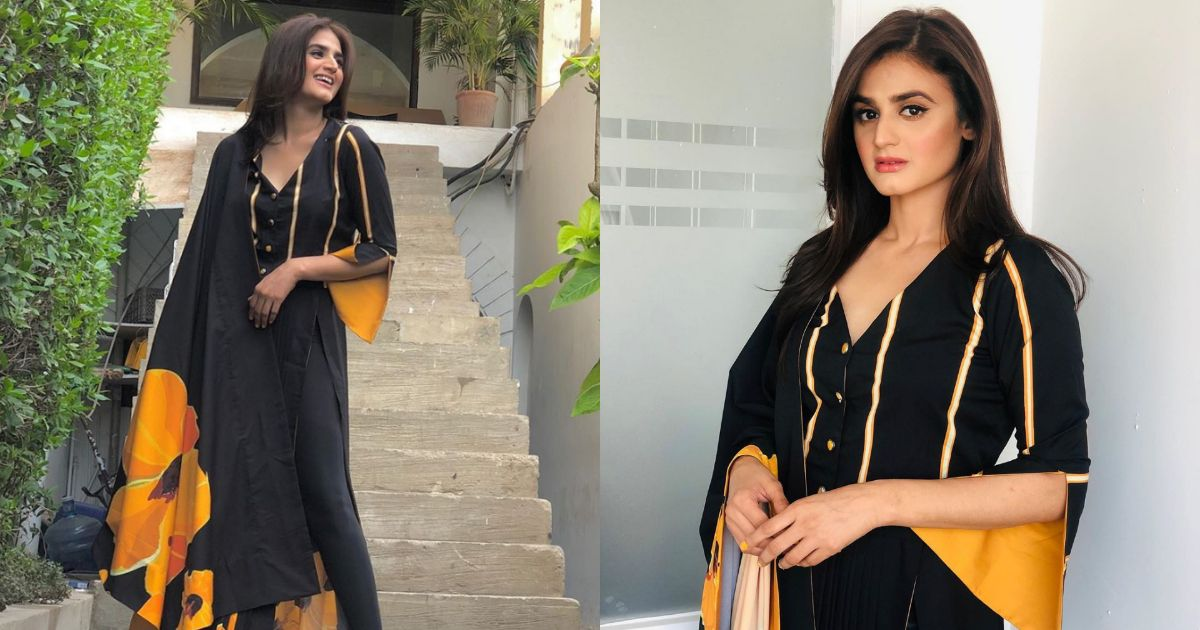 Actress Hira Mani New Photoshoot for a Clothing Brand