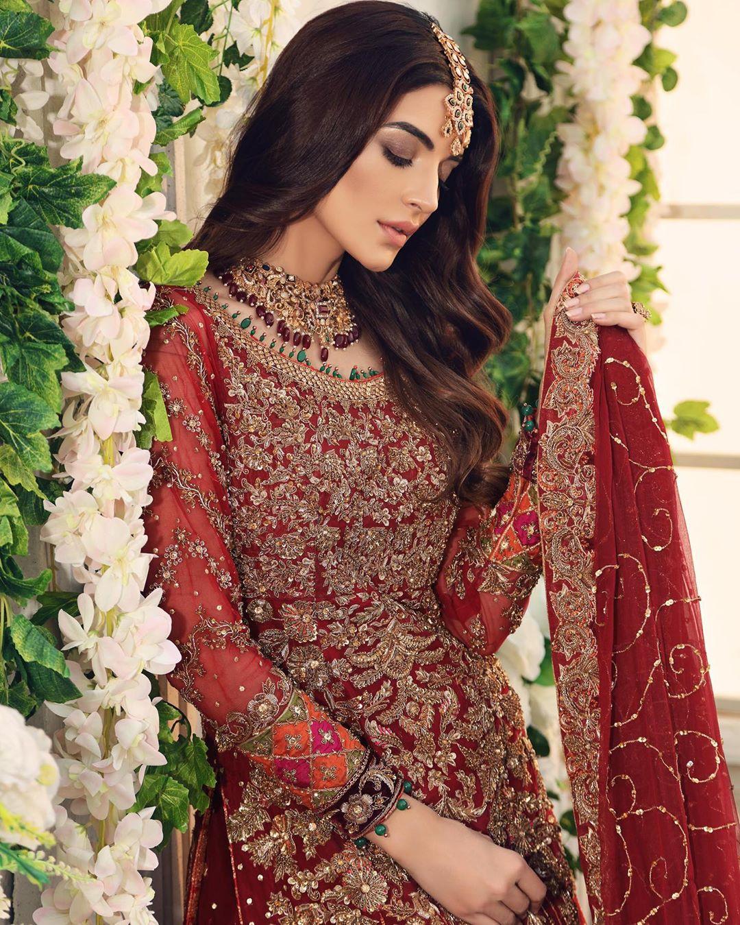 Latest Birdal Photoshoot of Sadia Khan