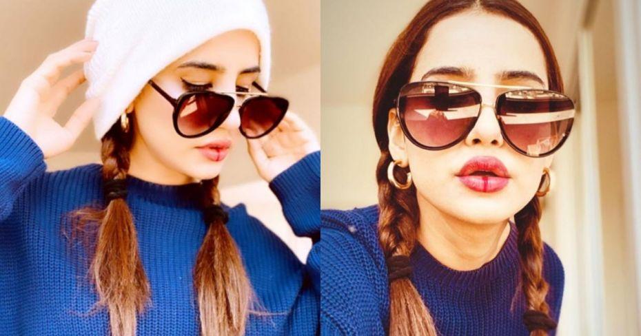 Actress Saniya Shamshad Latest Beautfiul Clicks