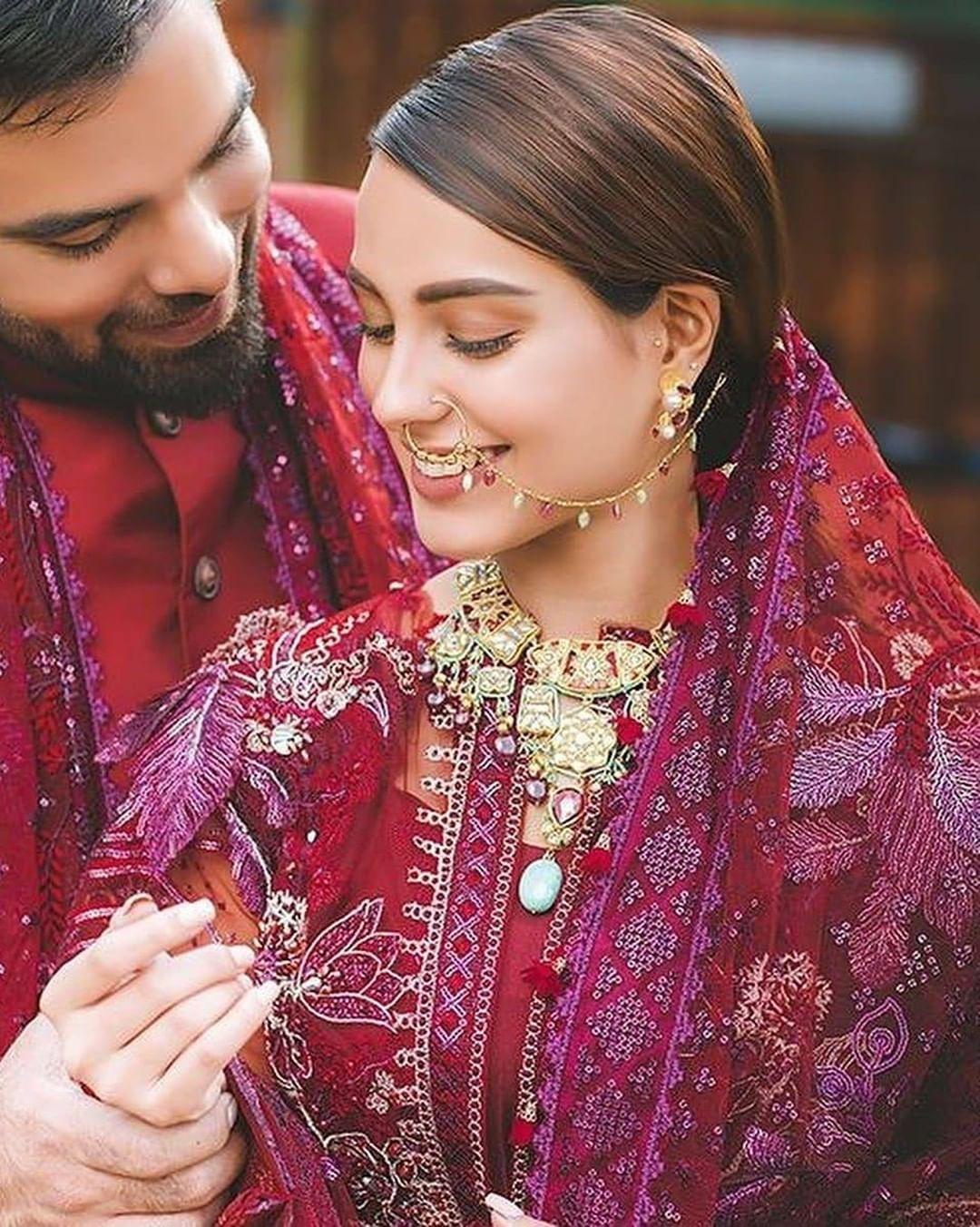 New Awesome Photoshoot of Iqra Aziz and Yasir Hussain