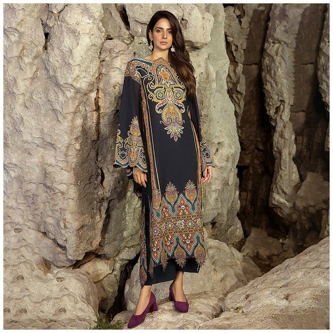 Beautiful Saba Qamar Amazing Recent Clicks