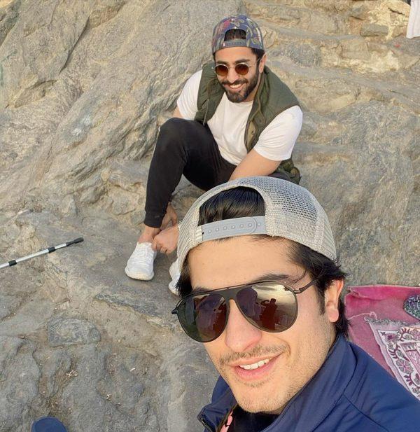 Sheheryar Munawar with Brother Trekked to the Cave of Hira