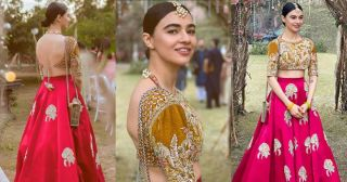 Beautiful Pictures of Saheefa Jabbar at Recent Wedding Event