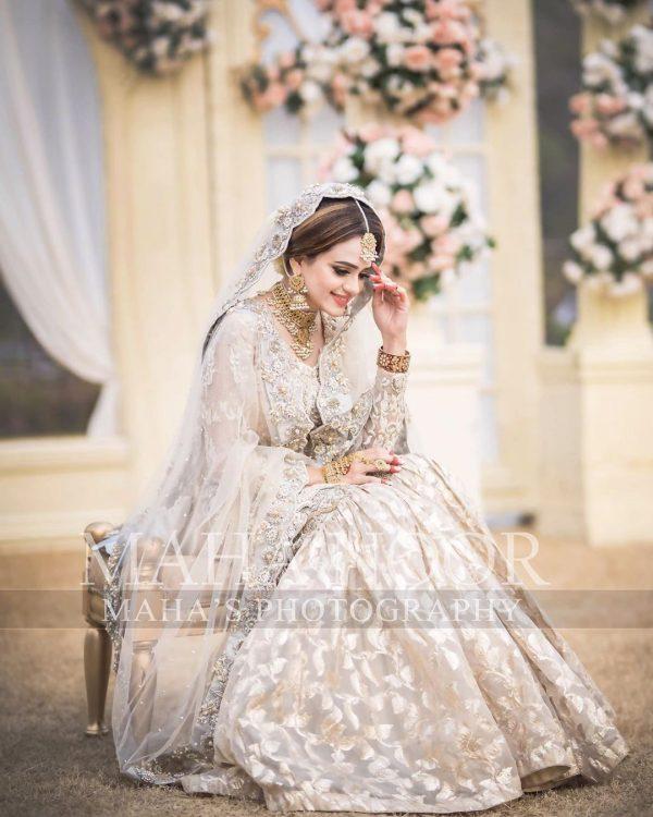 Sumbul Iqbal New Bridal Photoshoot