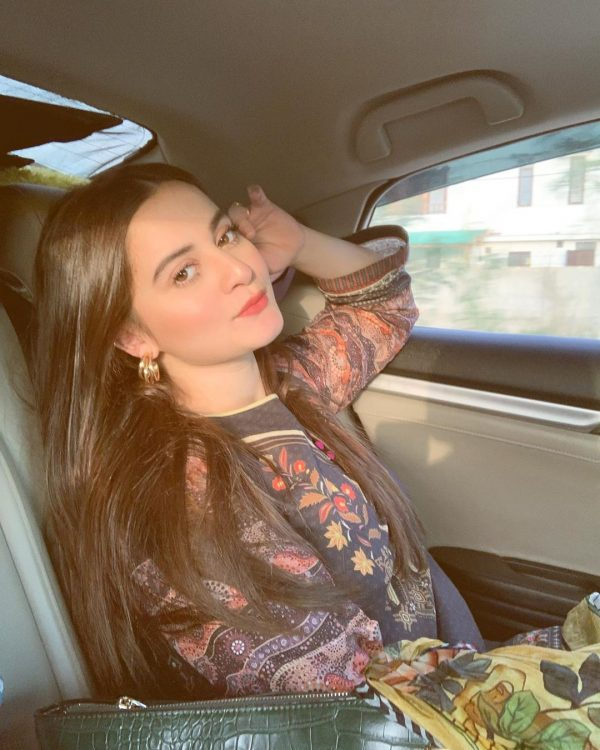 Actress Aiman Khan's New Awesome Pictures