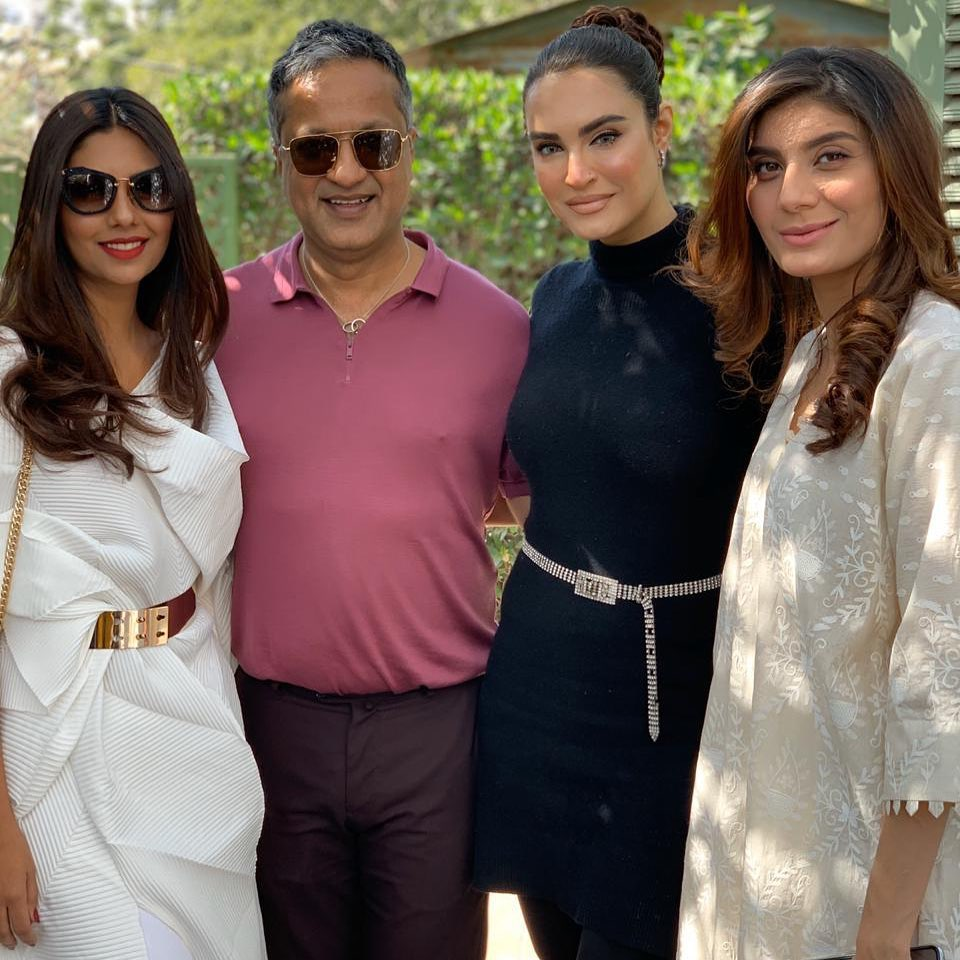 Showbiz Celebrities Spotted at a Brunch Hosted by Adnan Ansari