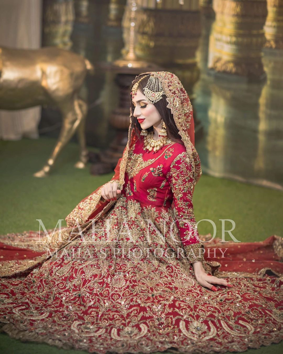 Actress Mashal Khan Latest Beautiful Bridal Photoshoot