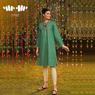 Khaadi Pret Wear Kurta Fashion 2020