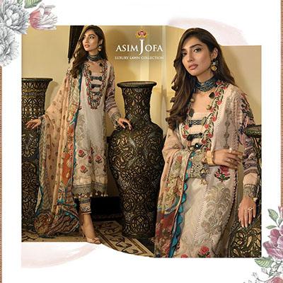 Asim Jofa luxury lawn collection 2020