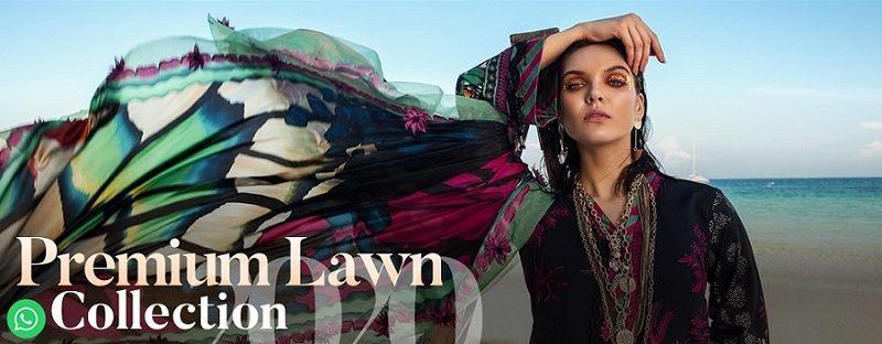 <br/>    New In Rang Rasiya Premium Lawn 2020 – Online