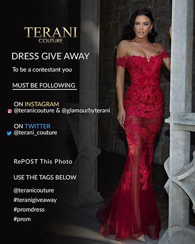 Terani Couture evening wear 2020