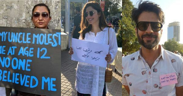 Famous Celebrities Attending Aurat March 2020 with Their Posters
