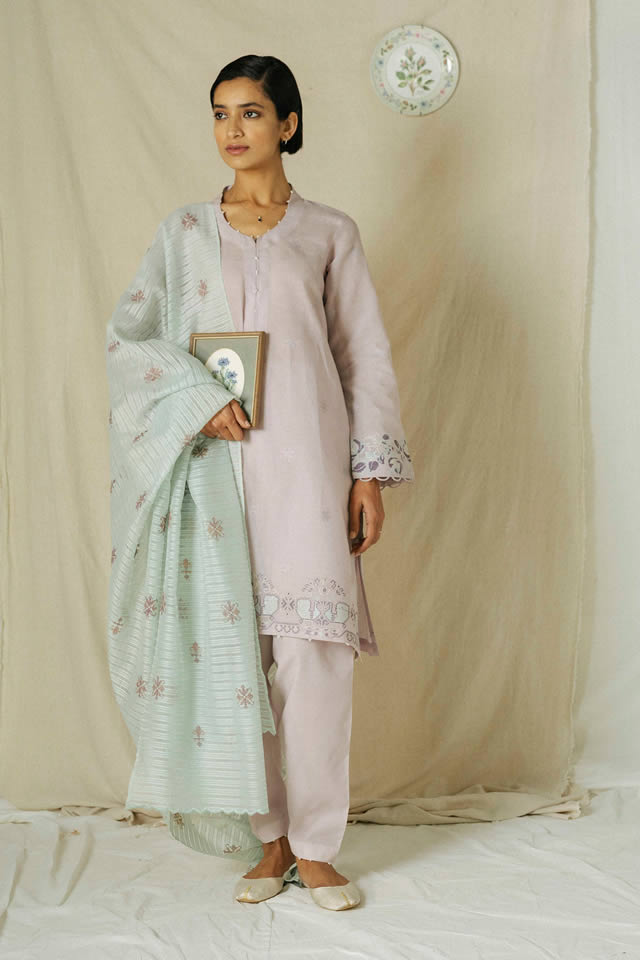Zara Shahjahan Embroidery Summer Lawn 2020