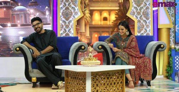Ramazan Show |Reema Khan invites Iqra and Yasir [Pictorial]