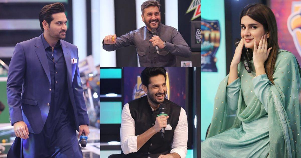 Talented Actors Humayun Saeed, Bilal Ashraf Adnan Siddiqui and Kubra Khan in Jeeto Pakistan Ramazan Special