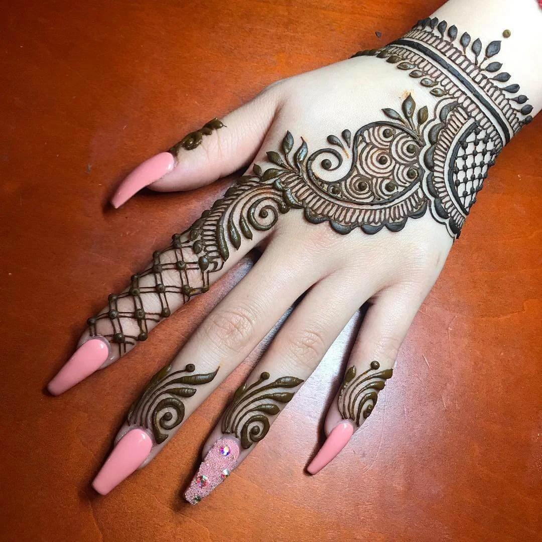 Arabic Mehndi Designs 2021