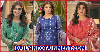 Hira Mani features in Salitex Unstitched Festive Luxury Lawn Collection Oznur Vol II