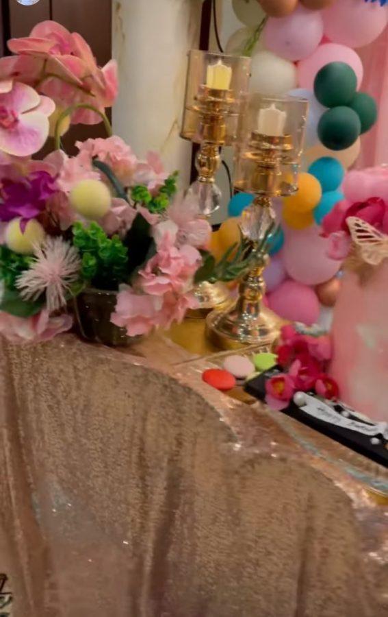 Shahid Afridi's Daughter Ajwa Birthday