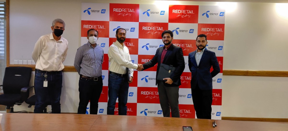 REDRETAIL Telenor Pakistan - Signing Ceremony