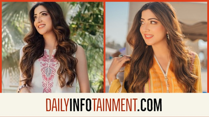 Aymen Saleem Features in Faiza Saqlain Silk Collection