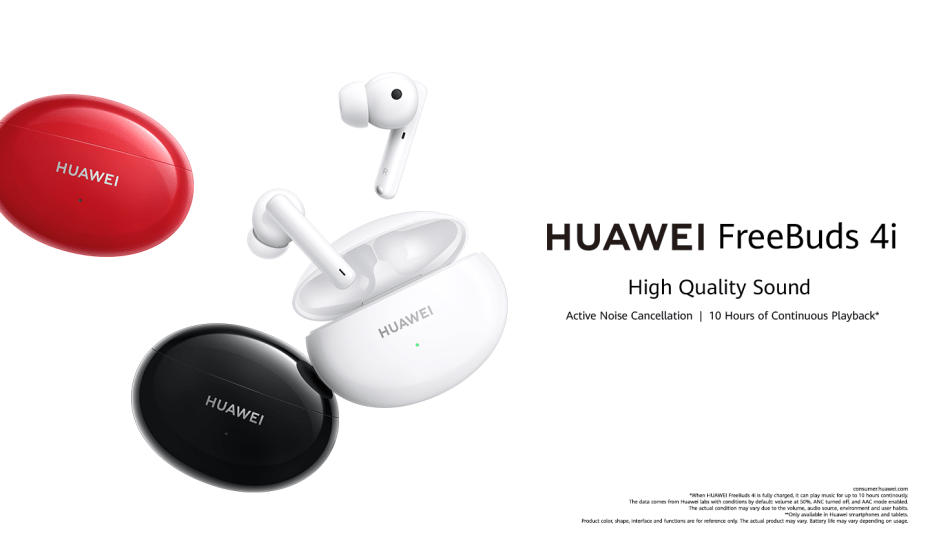 The HUAWEI FreeBuds 4i: High-quality sound is just a pair of earphones away