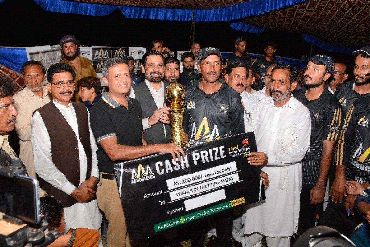 AAA Kiani 11 Club won 3rd Inter-Village Open Cricket Championship
