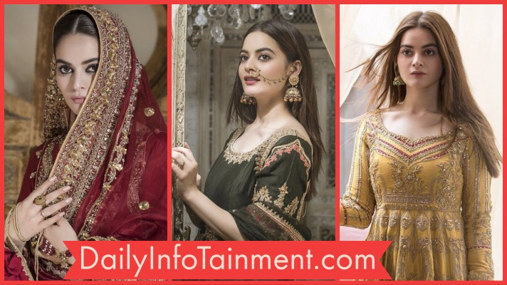 Minal Khan Desi Bridal Looks are so Classy