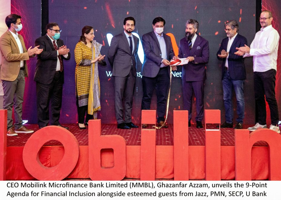 Mobilink Bank puts forth Policy Recommendations to foster Financial Inclusion in Pakistan