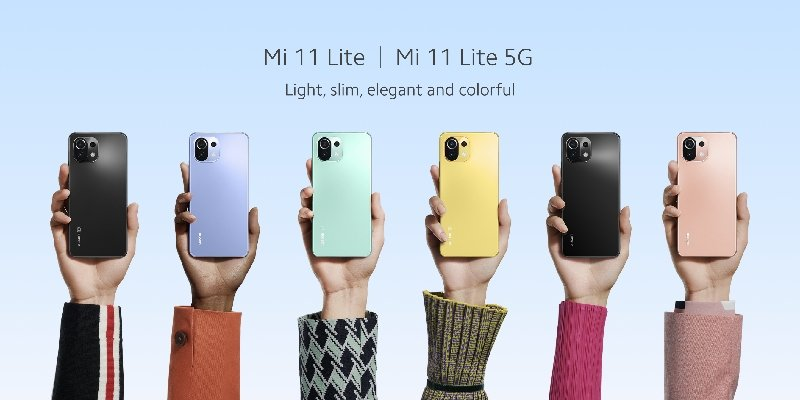 Xiaomi 11 Lite 5G NE – Unleash your creativity with featherweight design & exciting colours