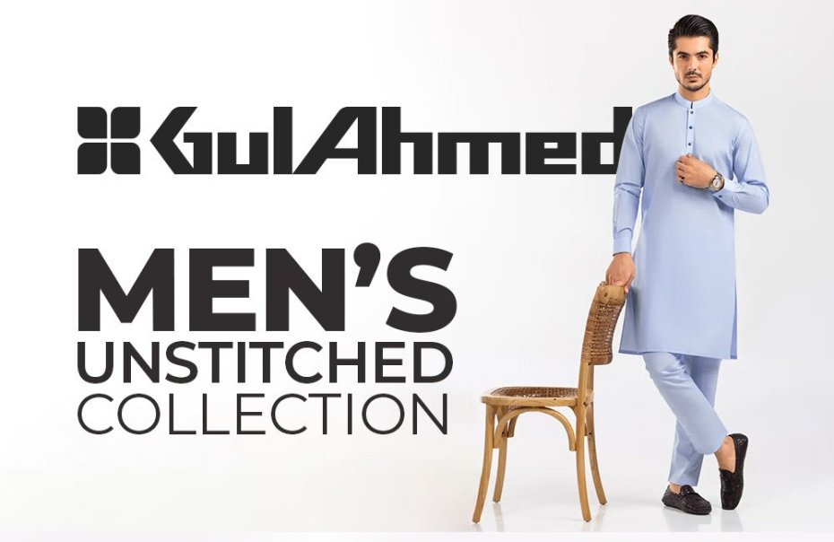 Gul Ahmed Men's Unstitched Collection