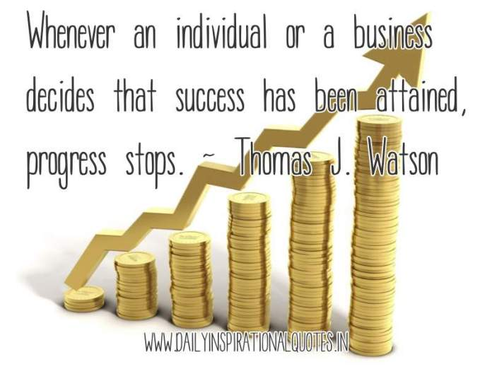 Whenever an individual or.. ( Business Quotes )
